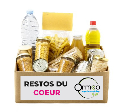 Ormeo organise une collecte de dons aux Resto du cœur