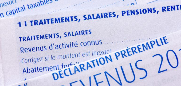 déclaration impôt sur le revenus dates 2021
